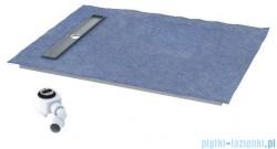 Schedpol brodzik posadzkowy podpłytkowy ruszt Stamp 140x70x5cm 10.006/OLKB/SP