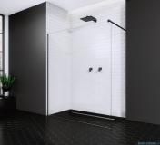 Radaway Modo New Black II kabina Walk-in 80x200 szkło przejrzyste 389084-54-01