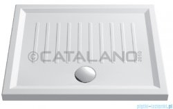 Catalano Verso 100x80 brodzik ceramiczny 100x80x6 cm biały 180100H600