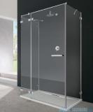 Radaway Euphoria KDJ+S kabina przyścienna 90x100x90 lewa szkło przejrzyste + brodzik + syfon 383612-01L/383220-01L/383050-01/383030-01/4AD910-01