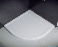 Besco Axim ultraslim 90x90cm brodzik półokrągły biały BAX-90-NR