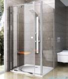 Ravak Pivot PPS ścianka prysznicowa 100cm aluminium transparent Anticalc 90GA0C00Z1