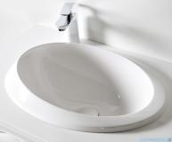 Sanitti Otto umywalka nablatowa 52x36 cm biały połysk OTTO-52-BP