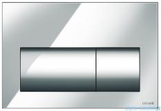 Cersanit Presto przycisk spłukujący 2-funkcyjny chrom matowy K97-348