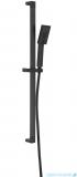 Omnires JimJim zestaw prysznicowy suwany 3-funkcyjny czarny JimJim-SBL