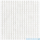 Dunin Black & White mozaika kamienna 30x30 pure white 15 matt
