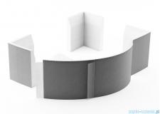 Nośnik styropianowy uniwersalny Schedpol do wanien półokrągłych 240x63cm 1.083