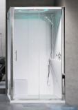 Novellini Eon kabina prostokątna z hydromasażem 120x80 prawa EON2P129DM1-1AK