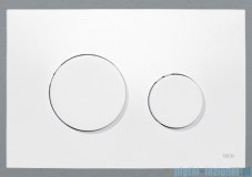 Tece Przycisk spłukujący z tworzywa-do WC Teceloop biały antybakteryjny 9.240.640