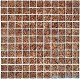 Dunin Spark mozaika szklana 30x30 walnut 23