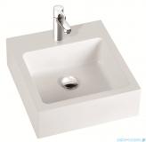 Marmorin umywalka nablatowa Ceti 45cm z otworem biała 180045020011