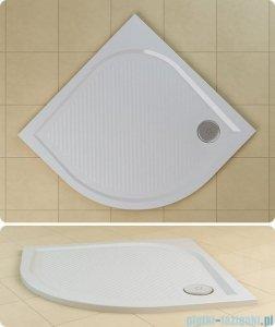 SanSwiss WMR Brodzik półokrągły konglomeratowy 100x100cm biały WMR55100004