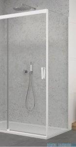 SanSwiss Cadura White Line ścianka boczna Cast 80x200cm profile biały mat CAST0800907