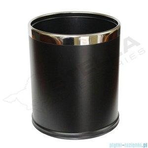 Stella pojemnik na śmieci 9l zdejmowana obudowa czarna 20101