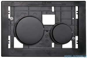 Tece Płytka z przyciskami-do WC Teceloop czarne 9.240.667