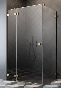 Radaway Essenza Pro Gold Kdj kabina 90x70cm lewa przejrzyste 10097090-09-01L/10098070-01-01