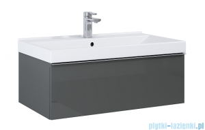 Elita Look szafka z umywalką 80x28x45cm anthracite 167080/145840