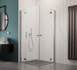 Radaway Torrenta Kdd Kabina prysznicowa 90x80 szkło carre 32777-01-10NL