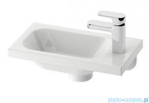 Ravak Umywalka Chrome 400 R biała z otworami 40x22 cm, prawa XJGP1100000