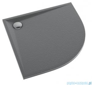 Schedpol Schedline Libra Anthracite Stone brodzik półokrągły 90x90x3cm 3SP.L2O-9090