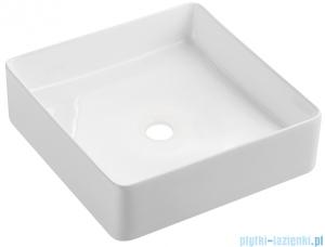 Omnires Pasadena umywalka nablatowa 36x36 cm biała Pasadena360BP