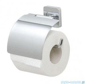Tiger Onu Uchwyt na papier toaletowy z klapką chrom 13191.3.03.46