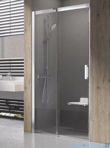 Ravak Matrix MSD2 drzwi prysznicowe 100cm lewe satyna transparent 0WLA0U00Z1