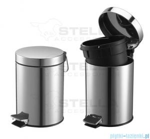 Stella pojemnik na odpadki 5l chrom 20.005