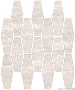Ceramika Color Salomea soft grey mozaika ścienna 25x33
