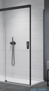 SanSwiss Cadura Black Line ścianka boczna Cast 110x200cm profile czarny mat CAST1100607