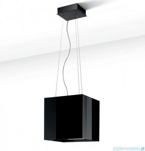Best Cube czarny okap kuchenny wyspowy 07G03803A