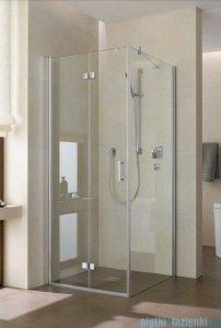 Kermi Diga Drzwi wahadłowo-składane do ściany bocznej, lewe, szkło przezroczyste, profile białe 70x200 DI2SL070202AK