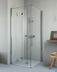 Radaway Essenza New KDJ-B kabina prysznicowa 80x100 lewa przejrzyste 385081-01-01L/384052-01-01