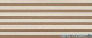 Ceramika Color Scala cream Geo dekor ścienny 25x60