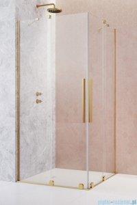 Radaway Furo Gold KDD kabina 90x100cm szkło przejrzyste 10105090-09-01L/10105100-09-01R