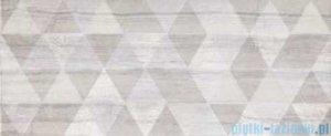Ceramika Color Sabuni Triangle dekor ścienny 25x60