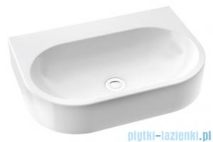 Marmorin Pia 600 umywalka wisząca 60x41 bez przelewu i bez otworu na baterie biała 571060020010