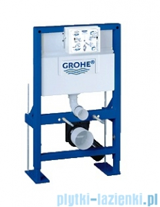 Grohe Rapid SL do WC ściennego ze spłuczką do WC 6- 9l 38587000