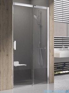 Ravak Matrix MSD2 drzwi prysznicowe 100cm prawe satyna transparent 0WPA0U00Z1