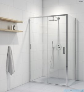 Oltens Fulla kabina prysznicowa prostokątna szkło przejrzyste 120x90cm 20205100