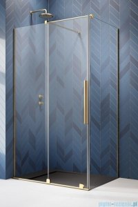 Radaway Furo Gold Kdj kabina 100x75cm lewa szkło przejrzyste 10104522-09-01L/10110480-01-01/10113075-01-01