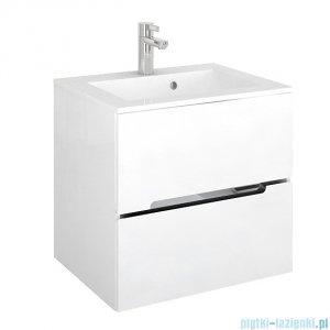 Oristo Silver szafka z umywalką 60x55x44cm biały połysk OR33-SD2S-60-1/UME-SI-60-92