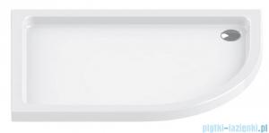 New Trendy Maxima Ultra brodzik asymetryczny posadzkowy lewy 100x80x6cm B-0334/L