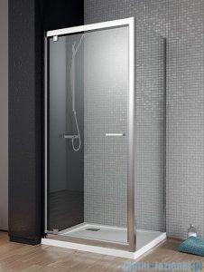 Radaway Twist DW+S Kabina prysznicowa 100x100 szkło przejrzyste + brodzik Delos C + syfon 382003-01/382013-01/SDC1010-01