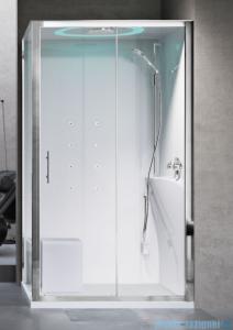 Novellini Eon kabina prostokątna z hydromasażem 120x80 prawa EON2P120DT1-1AK