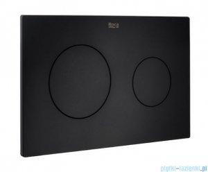 Roca Duplo One PL10 przycisk spłukujący podwójny czarny mat A890189206