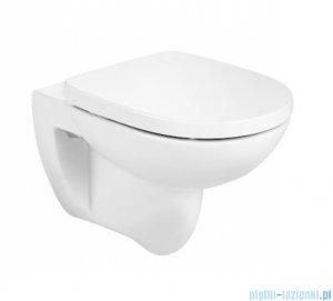 Roca Debba Round Rimless miska wc podwieszana biała A346998000