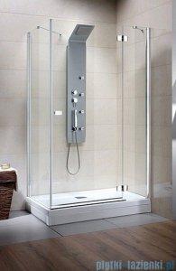 Radaway Kabina prysznicowa Fuenta KDJ 80x80 prawa szkło przejrzyste 381039-01R