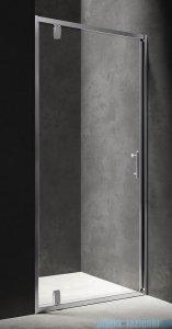 Omnires drzwi prysznicowe 90cm przejrzyste S-90DCRTR
