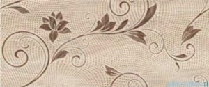Ceramika Color Sonora flower dekor ścienny 25x60